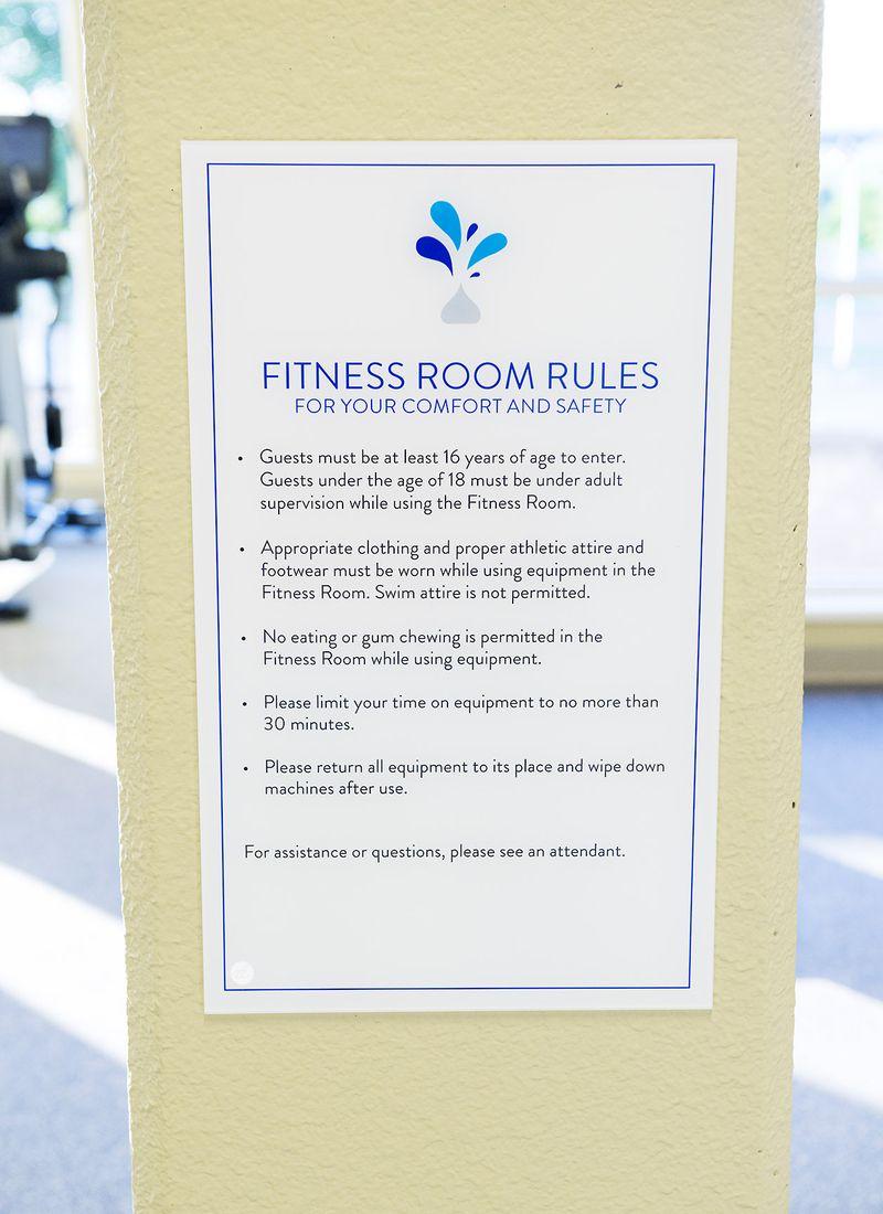FitnessRoomRules